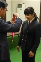 世界ジュニアレスリング今井佑海さんが優勝報告
