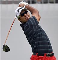 松山、74で44位に後退 米男子ゴルフ第2日