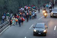 中米の移民3000人北上、メキシコが国連に支援要請へ