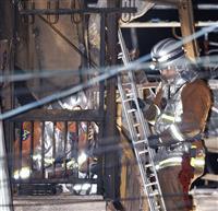 遺体は住人女性と長男 5人死傷の民家火災 平野署