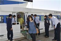 五島産業汽船が一部再開 「運航、本当に助かる」