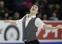 チェンが男子SP首位 スケートアメリカ開幕