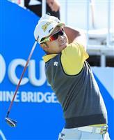 松山英樹、66で17位に浮上 米男子ゴルフ