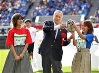 埼玉・熊谷ラグビー場、「こけら落とし」公式戦 約1万4千人が歓声 課題は混雑緩和策