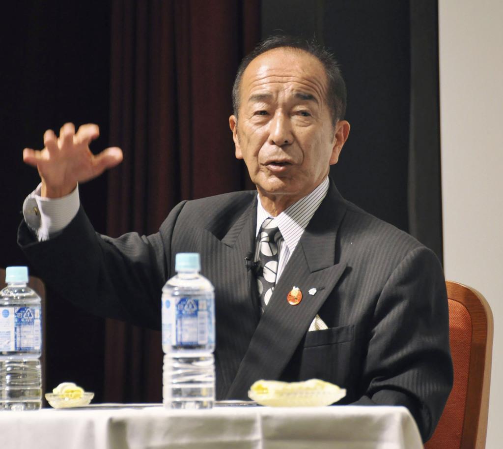 山下さん「松井選手に新聞読ませた」 新聞週間、星稜高名誉監督