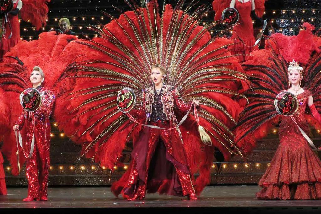 宝塚歌劇団第3回台湾公演のリハーサル=19日、台北市内(共同)