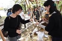 飲食や雑貨の店も 秋の和歌山・大新公園で「マルシェ」