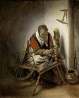 フェルメール展(1) 働く女性 「勤勉」の美徳を象徴