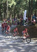 自転車ジャパンカップ 迫力の世界トップの走り 地元チームも健闘