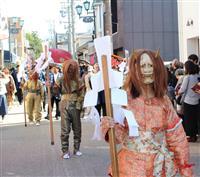豪華ダンジリに鬼行列 秋晴れの伊賀で上野天神祭の本祭