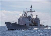 米艦2隻が台湾海峡通過 台湾発表、中国牽制か
