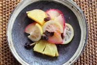【料理と酒】爽やかな酸味とともに サツマイモとリンゴのレモン煮