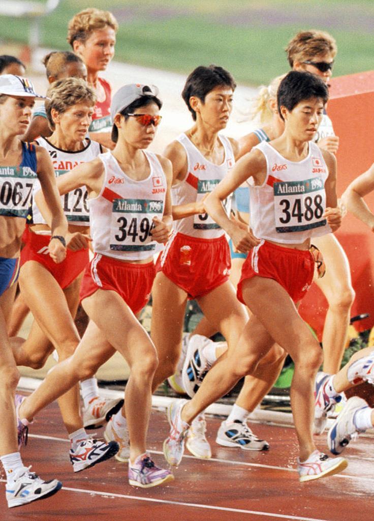 アトランタ五輪女子マラソン代表...