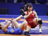 源平彩南と皆川博恵は銅 須崎、奥野、川井友が決勝 世界レスリング