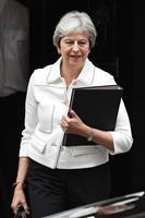 メイ英首相、真相究明要求 サウジ国王と電話会談