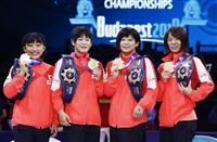 アジア大会惨敗から再建 日本女子メダル7個 世界レスリング