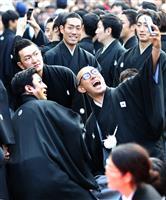 幸四郎さんら歌舞伎役者69人がお練り 過去最大規模 京都・南座の新開場記念で
