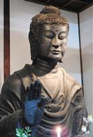 日本最古級の仏像「飛鳥大仏」、国宝に返り咲くか 最新研究で顔の成分が7世紀と判明