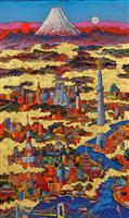 【アート 美】絹谷幸二展 鮮烈な色彩…見る者を圧倒
