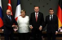 独仏首脳、サウジ制裁「EU協調で」