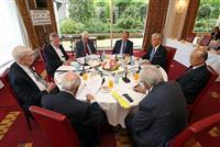 世界文化賞国際顧問会議、運営方針など議論 世界平和と対話を求めて