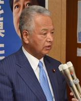 甘利選対委員長「自信になる」 新潟市長選で連敗ストップ…自民安堵
