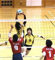 【春高バレー 静岡大会】男子・静岡大成3回戦へ 女子・駿河総合勝ち進む