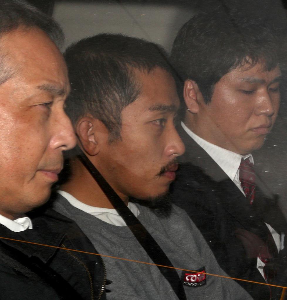 富田林逃走 樋田淳也容疑者を送検 まっすぐ前を向く 窃盗容疑で