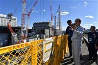福島知事、再選後初の原発視察「廃炉は確実に前進」