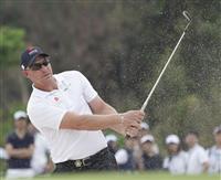 ノリスが65で首位浮上 平和PGMゴルフ第2日