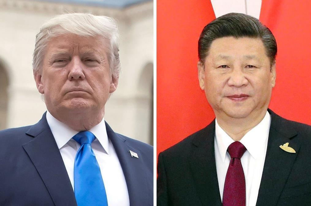 トランプ米大統領(ロイター)、中国の習近平国家主席