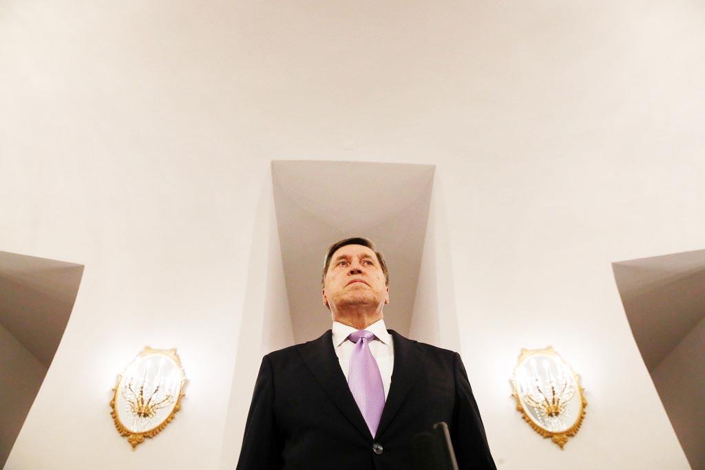 ロシアのウシャコフ大統領補佐官(ロイター)