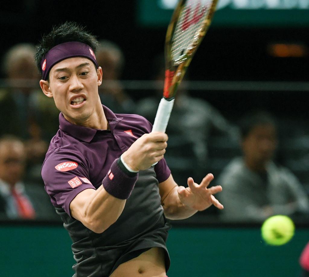 錦織圭 フェデラーに屈す 男子テニスのマスターズ パリ 4強ならず 産経ニュース