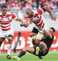 日本、王者NZに敗れる ラグビーのテストマッチ