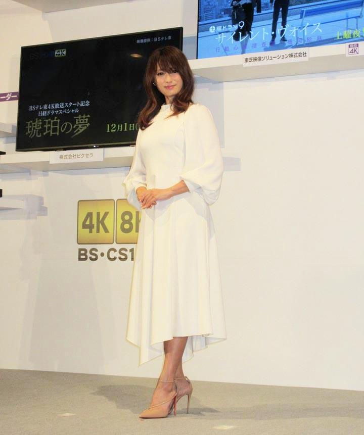 4K・8K放送開始目前 深田恭子さんがPR