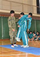 陸自が協力、高校生が災害時の対応学ぶ 茨城