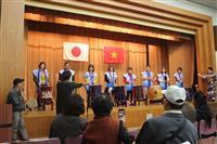 ベトナム人観光客ら160人歓迎 茨城県立歴史館でイベント