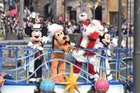 東京ディズニーリゾートでクリスマスイベントスタート