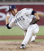 牧田和久が3Aに降格 パドレス発表、ウエーバーで獲得球団なし