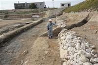 松山の正尺池発掘調査で中国産磁器や木樋出土 中世伊予の豪族・河野氏と関連か