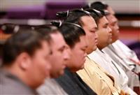 一人横綱稀勢の里「結果残す」 大相撲九州場所土俵祭り