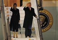 トランプ大統領訪仏 仏大統領の「欧州軍」構想は「侮辱」と批判