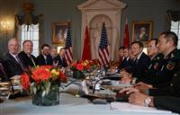 米中、南シナ海で溝鮮明 外交・安全保障対話