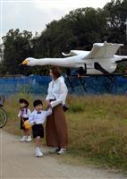 大阪・羽曳野市が白鳥型ドローンを導入