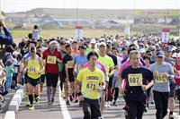 津波被災地で復興マラソン 宮城・亘理、6年ぶり沿岸部開催