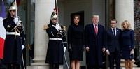 トランプ氏、米兵墓地訪問を中止 前政権高官が非難