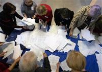 親露派首長が当選確実 ウクライナ東部の2地域