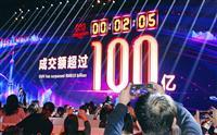 中国「独身の日」ネットセール アリババ過去最高記録