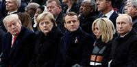 マクロン仏大統領、「国際協調」狙うも分断浮き彫りに 第一次大戦終結記念式典で