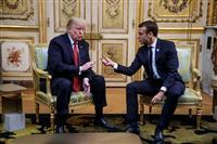 マクロン氏「欧州は自前で軍備調達を」 再び米と軋轢も?
